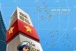 Thêm bản đồ Trung Quốc không có Hoàng Sa, Trường Sa