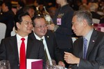Ảnh: Hoạt động của Thủ tướng Nguyễn Tấn Dũng tại Đối thoại Shangri-La