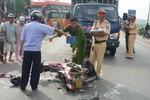 Tạm giữ một thanh tra giao thông gây tai nạn chết người