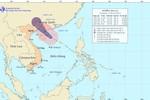 Bão số 3 đang di chuyển vào tỉnh Quảng Tây (Trung Quốc)