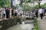 Đường ngập nước, 1 người tử vong do ngã xuống cống