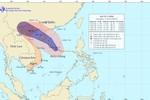 Bão số 5 tiến sát quần đảo Hoàng Sa