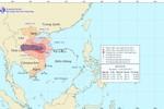 Bão số 10 đổ bộ vào các tỉnh miền Trung, kèm theo mưa to