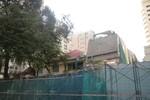 Cận cảnh tháo dỡ trụ sở TAND TP.HCM