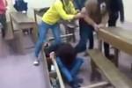 Nữ sinh Hà Nội bị đánh hội đồng ngay trong lớp học