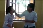 Phẫn nộ hành động của nam sinh đánh bạn nữ ngay trong lớp học