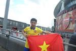 """""""Running man"""" Vũ Xuân Tiến trải lòng 3 ngày sang thăm CLB Arsenal"""