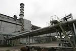 Sập tường, mái nhà máy điện hạt nhân Chernobyl