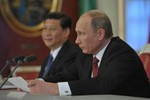 """Asahi: Putin """"né"""" đề nghị của Tập Cận Bình ủng hộ TQ trong vụ Senkaku"""