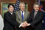 Bên lề Shangri-la: Mỹ - Nhật - Úc chia sẻ những lo ngại về Trung Quốc