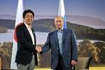 Putin và Shinzo Abe đẩy mạnh đàm phán giải quyết tranh chấp lãnh thổ