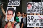 Mỹ kêu gọi Hồng Kông dẫn độ cựu nhân viên an ninh Snowden