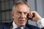 Cựu Thủ tướng Tony Blair kêu gọi chính phủ Anh can thiệp vào Syria