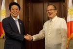 Nhật cam kết hỗ trợ Philippines, muốn đối thoại với Trung Quốc