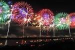 Video: Thành phố Nagaoka Nhật Bản bắn pháo hoa trong lũ lụt