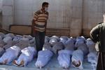 Phe đối lập Syria: Quân Assad tấn công bằng khí độc, 213 người chết