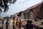 Ảnh: Động đất mạnh 7,2 độ rích te vừa tấn công Philippines
