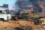 Video: Phiến quân Syria ngụy trang 1,5 tấn thuốc nổ đánh bom liều chết