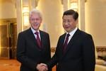Tập Cận Bình gặp Bill Clinton: Quan hệ Trung - Mỹ là tòa nhà chọc trời