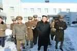 Kim Jong-un vui vẻ thị sát quân đội sau khi xử tử Jang Song-thaek