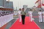 Tập Cận Bình chỉ đạo Hạm trưởng TSB Liêu Ninh sẵn sàng chiến đấu