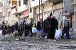 Súng cối phá vỡ lệnh ngừng bắn tại Homs, Syria