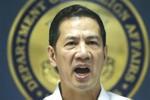 Philippines triệu Đại biện TQ phản đối vụ đuổi tàu khỏi bãi Cỏ Mây