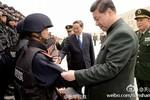 Tập Cận Bình bất ngờ đi Tân Cương tăng cường chống khủng bố