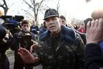 Quan chức Kiev tuyên bố nội chiến ở Đông Ukraine