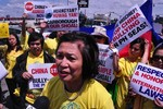 Philippines: Biểu tình ủng hộ Việt Nam, phản đối Trung Quốc vụ 981