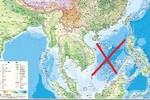 Trung Quốc xuất bản bản đồ dọc xâm phạm chủ quyền 2 quần đảo Việt Nam