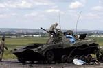 Quân chính phủ Ukraine đã lấy lại được Slaviansk