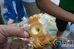 Trung Quốc: Phát bánh ngọt mốc cứu trợ nạn nhân bão Rammasun