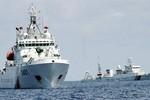 Trung Quốc kéo 12 tàu Hải cảnh bảo vệ tàu nạo vét trái phép Trường Sa