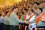 Tập Cận Bình họp 15 tướng lĩnh hàng đầu, chỉ thị phải đánh thắng