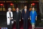 Tập Cận Bình tiếp Quốc vương, Thái hậu Campuchia: TQ là nhà của quý vị