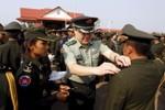 """""""Trung Quốc có hồ sơ chi tiết từng học viên sĩ quan quân sự Campuchia"""""""
