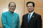 Thủ tướng Nguyễn Tấn Dũng và Tổng thống Philippines thúc đẩy COC