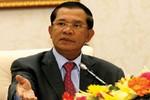 Hun Sen gửi luật biên giới với Việt Nam do vua Sihamoni ký cho Sam Rainsy