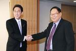 """Nhật Bản tiếp """"ứng viên Tổng thống Myanmar"""" và mời bà Aung San Suu Kyi sang thăm"""