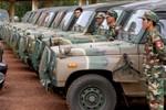 Hàn Quốc tặng hàng trăm xe quân sự cho quân đội Campuchia