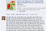 Bài thơ viết tặng Nguyễn Văn Nam làm lay động hàng triệu con tim