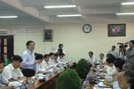 Trưởng Ban Kinh tế TƯ làm việc với Đại học Y Dược và ĐH Cần Thơ