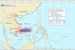 Ảnh hưởng của áp thấp nhiệt đới, các tỉnh Trung Trung Bộ có mưa