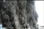 Clip: Cháy chợ Thạnh Trị ở Mỹ Tho tỉnh Tiền Giang