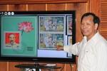 Bộ sưu tập tem quý về Bác Hồ kính yêu