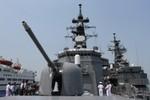 Cận cảnh tàu chiến tối tân của Lực lượng tự vệ bờ biển Nhật Bản đến Đà Nẵng