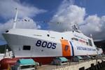 Tàu Cảnh sát biển hiện đại nhất Việt Nam chính thức hạ thủy