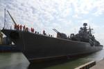 Cận cảnh đội tàu Liên bang Nga đến Đà Nẵng