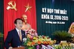 Bí thư Nguyễn Xuân Anh được bầu giữ chức Chủ tịch HĐND Đà Nẵng